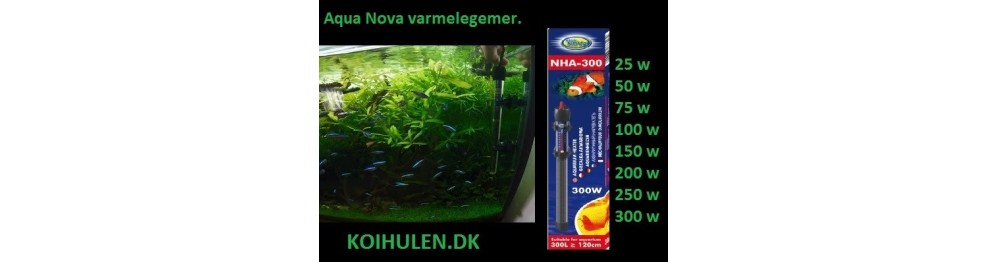 AQUA Nova Varmelegemer