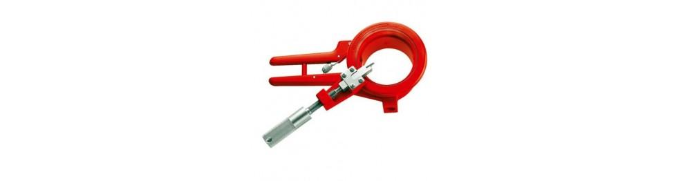 Diverse værktøj til PVC