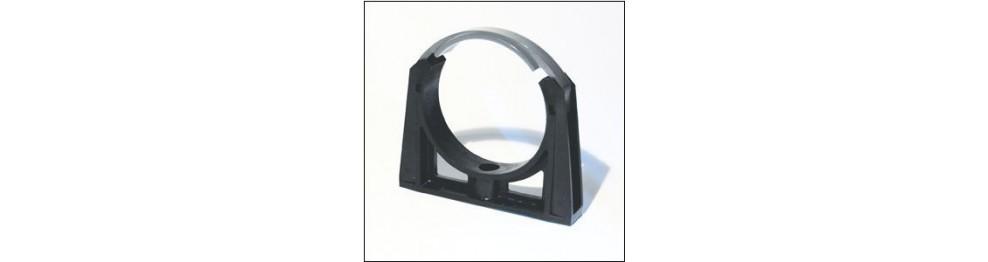 PVC Rørholder m/bøjle