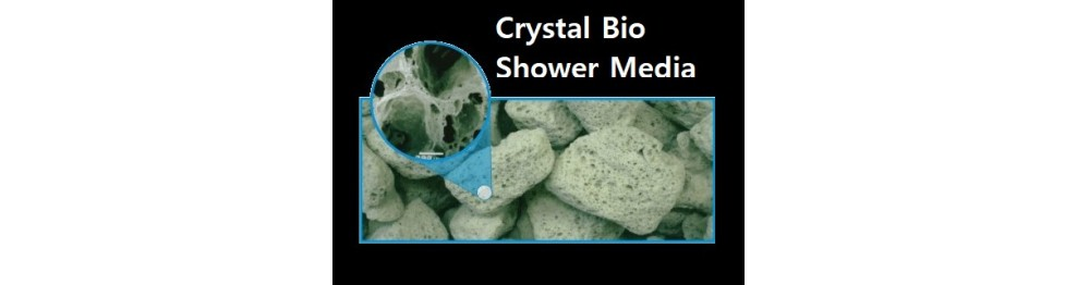 Crystal Bio Shower Media